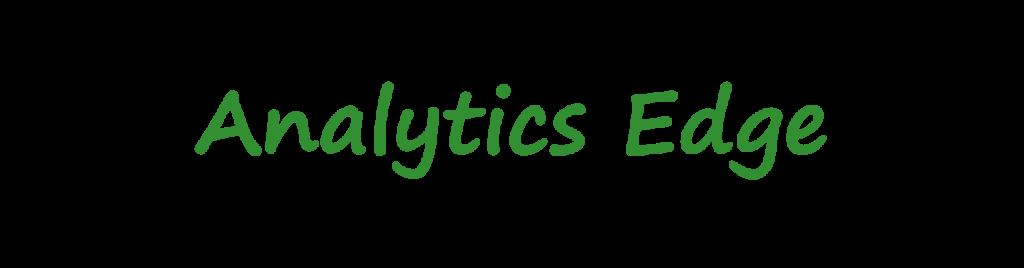 Analytics Edge Logo