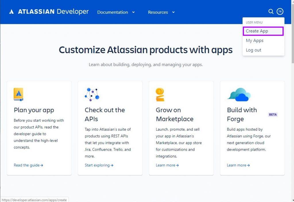 Create a JIRA API App