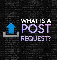 What is a POST request?