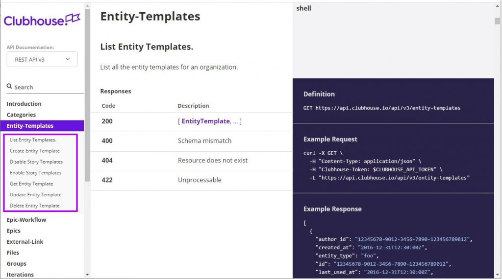 Entity-Templates category content