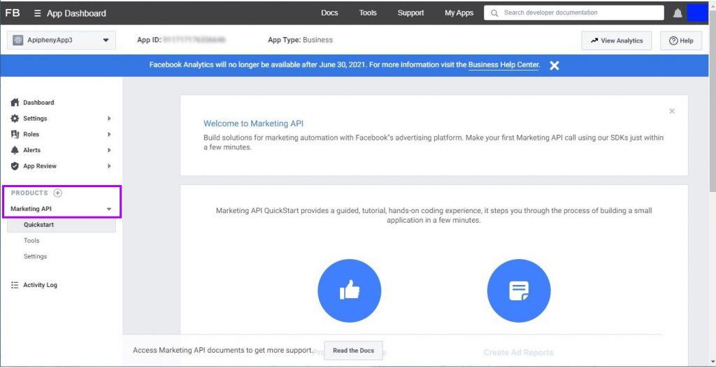 Marketing API